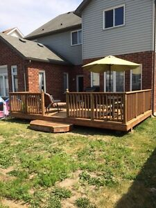 Fall DISCOUNTS/Fence+Deck/Outdoor projects Kitchener / Waterloo Kitchener Area image 3