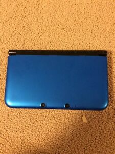3DS XL with charger and pokemon games