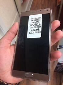 Note 4 UNLOCKED