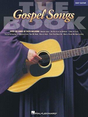 The Gospel Songs Book Sheet Music Easy Guitar NEW 000702157