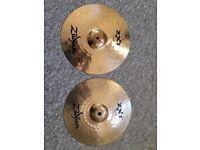 "Zildjian ZXT 14"" Rock Hi-Hat Cymbals"