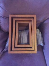 Next wooden wall cubes