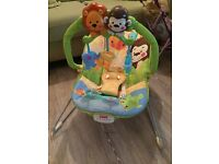 Fisher price soothing vibrations baby chair