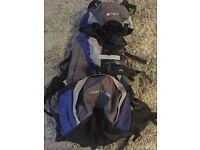 Hi Gear Tibet 65 + 10L Rucksack