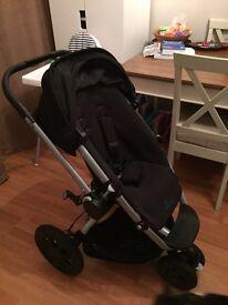 Quinny Buzz, pram and maxi cosi car seat & loads of accessories