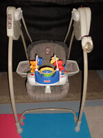 Fisher Price Deluxe Quick Response Swing with Remote Control