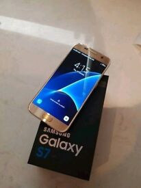 Samsung s7 Gold with box