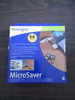 PRICED TO CLEAR - Kensington Microsaver Laptop Security Cable