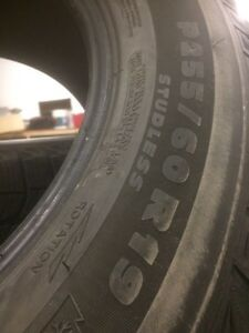 255 60 r19 Michelin Ice tires Prince George British Columbia image 3