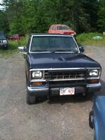 1986 Ford Ranger 4x4 Diesel Pickup Truck