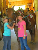 Summer Horse Camp for Kids July 27th - 30th
