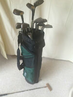 complete lady golfset with driver and golfbag
