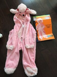 Girl 3T poodle costume