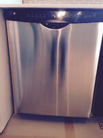 GE stainless steel Energy Star dishwasher