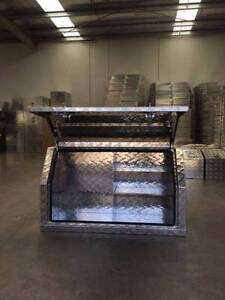Aluminium Toolbox Full Side Open with SHELF Ute 2.5mm Tool Box Clayton Monash Area Preview
