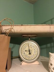 Antique Baby Weight Scale