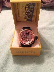 INVICTA ROSE GOLD OVERSIZED MENS WATCH