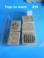 """Stamp set by Stamping up   """"Tags So Much"""""""
