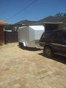 Custom built closed in tandem trailer Tuart Hill Stirling Area Preview