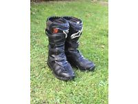 Alpinestar tech 3s size 8