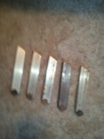 5 World War 1 German Luger Clips 9MM-not marked