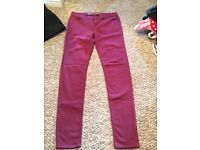 Ladies size 10 trousers 50p