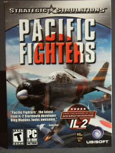 "PC Game: ""PACIFIC FIGHTERS"" - Strategic Simulations"