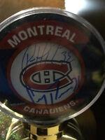 Autographed Hockey Pucks