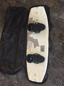 CWB wakeboard and 2 pairs of bindings