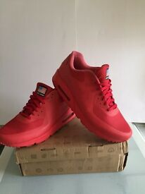 Nike Yeezy red independent day UK 12