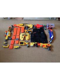 Nurf gun mega collection
