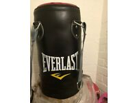 Everlast 4ft Leather Punch bag