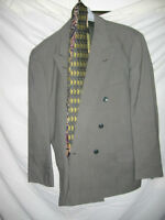 MENS 2 PIECE SUIT WITH TIES SZ 40-44