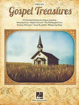 Gospel Treasures Sheet Music Organ NEW 000144550