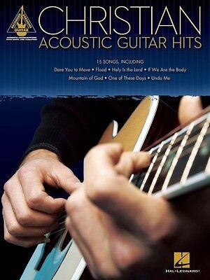 Christian Acoustic Guitar Hits Sheet Music Guitar Tablature Book NEW - Christian Guitar Sheet Music