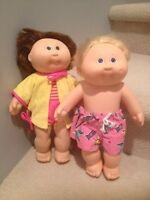 1980's Vintage Swim Cabbage Patch Dolls – selling individually