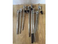 Various Drum Kit Hardware - Pearl Icon Rack + Clamps, Snare stand, Hi Hat stand, boom arms
