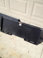 Skid Steer Mounting Quick Attachment Mounting Plates