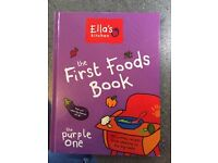 Ella first food book