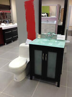 BRAND NEW WASAGA BATHROOM VANITY GREEN TOP $349