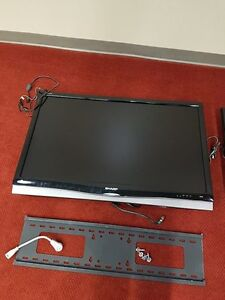"""42"""" Sharp Aquos TV with Wall Mount"""