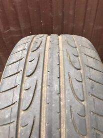 295/35/21 Dunlop SP Sport Maxx 6mm tread