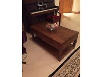 Locally Made Solid Oak Coffee table