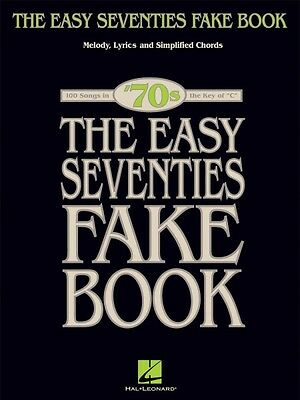 The Easy Seventies Fake Book Sheet Music Easy Fake Book NEW 000240256