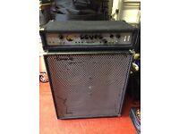 Ashdown MAG 300 Head with Peavey TVX410 cab - bass amp