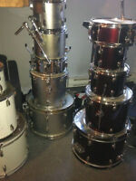 Drums, cymbales, hardware pas cher