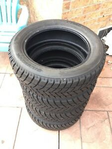 4 HANKOOK I*PIKE RC01 WINTER TIRES FOR SALE - 205/55R16 - $360