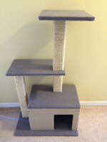 NEUF - Arbre a chat 2 tablettes / Cat tree - Park