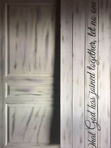 Wedding Sign: What God has joined together let...