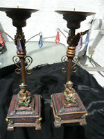 "Pair of ""Monkey King"" Statues"